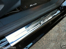 Genuine Ford Fiesta MK7 Front Door Scuff Plates Chrome Finish 5 Door 2008 On