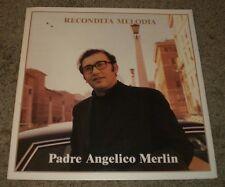 Recondita Melodia Padre Angelico Merlin~ULTRA-RARE Italy Import Religious~FAST!