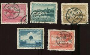 PR China 1956 S15 Peking views, postally used