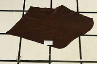 """Soft """"Sunken Oak"""" Brown Scrap Leather Hide Approx. 3.5 sqft. T17Z16-7"""