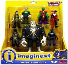 Fisher Price Imaginext DC Justice League 7 Figure Pack with Solomon Grundy