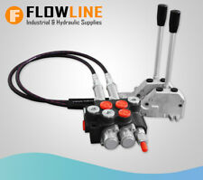 Double Acting Control Valve - 2 spool / Hydraulic Directional Control Valve