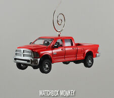 Custom  #039;14 Dodge RAM 2500 Quad Cab Truck Long Box Bed Christmas Ornament EXT XLT