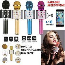 Boxed Wireless Bluetooth Karaoke Microphone Speaker Handheld Mic USB Player KTV
