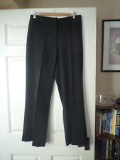 COLLEZIONI women's black smart wide legs trousers size 12