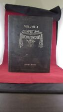 John Rider Perpetual Trouble Shooters Manual Vol X