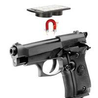 Magnetic Concealed Pistol Gun Holder Mount under table desk Mount 25lb Rating US