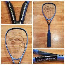 Dunlop Premium Black Max Carbon 500 cm2 Oversize Squash Racquet