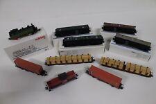 6015/65- Schöne Märklin H0 Züge mit Dampflok 3312 und Diesellok V 212!