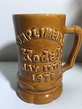 Vintage 1971 Mug Stein 'KODAK' Kerryl Melbourne 13 Cm Height