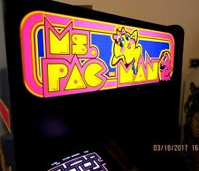 Arcade Machine,-Coin Operated,-Amusement,- Bally Midway,-,Ms Pacman-,New Cabinet