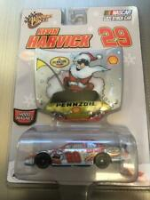 KEVIN HARVICK 2007 HOLIDAY PENNZOIL SANTA 1/64 WINNERS CIRCLE DIECAST WITH HOOD