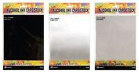 Ranger Tim Holtz Alcohol Ink Cardstock- 10 Sheets- Brushed Silver or Sparkle