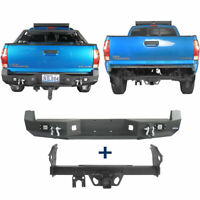 "2"" Standard Trailer Tow Receiver Hitch + Rear Bumper For Toyota Tacoma 2005-2015"