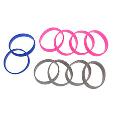 10 Silicone Rubber Bracelet Cuff Wristband Wrist Band 12mm Y5