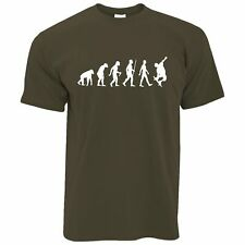 Mens Skater T Shirt Evolution Of A Skateboarder Skating Skate Board Tshirt Tee