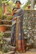 Designer Sari Bollywood Sari IndianWear Handloom cotton Women Special Wear I 3-3
