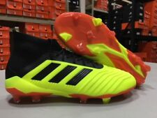 Adidas Men's Predator 18.1 FG Soccer Cleats (Solar Yellow/Black/Red) Size: 9 NEW