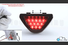 F1 Style Triangle 12 LED Rear Stop Tail 3rd Brake Light Universal SPORTY Red Len