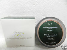 New Being True Protective Mineral Foundation Loose Powder Shade Tan 4 Spf 17