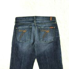 7 For All Mankind Women Jeans DOJO Size 27 X 32 Inseam 12-20