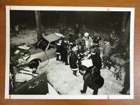 Vintage Glossy Press Photo Natick MA A Very Severe Car Accident Scene 3/02/93