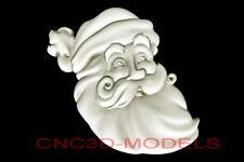 3d Model Stl For Cnc Router Artcam Aspire Merry Christmas Santa Claus D681