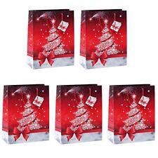 Emballages et paquets cadeaux rouges noël