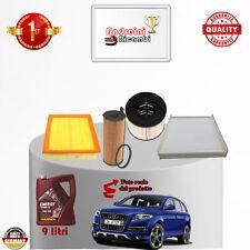 Filtres Kit D'Entretien + Huile Audi Q7 3.0 Tdi V6 155KW 211CV Partir 2008