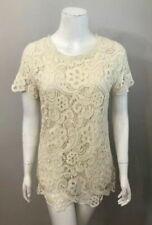 Camisas, camisetas y tops de mujer blancos Zara