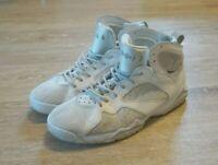 Nike Air Jordan Retro VII 7 Pure Money Platinum White 304775-120 Men Size 10.5