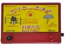 CYCLOPS HERO BATTERY POWERED   15 ACRE, 12 VOLT ELECTRIC FENCE CHARGER ENERGIZER