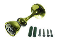 Neuf Magnétique Reste Porte Support Arrêt Compensé Laiton Plaqué avec Vis Kit (