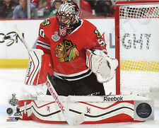 00004000 Corey Crawford Game 3 2015 Chicago Blackhawks Stanley Cup Champions 8x10 Photo