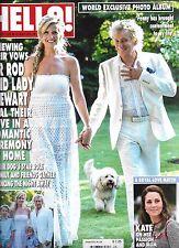 Hello magazine Rod Stewart Kate Middleton Queen Elizabeth Sophie Merieux