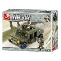 SLUBAN ARMY Sluban SUV M38 B0297  175 pcs
