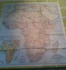 NATIONAL GEOGRAPHIC MAGAZINE AFRICA & ARAB PENINSULA WASHINGTON 1950