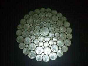 Kim Seybert Light Green Capiz Shell Placemat - 8 Available