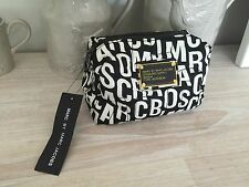Marc Jacobs Black White Makeup Cosmetic Bag Wallet Purse - Brand New