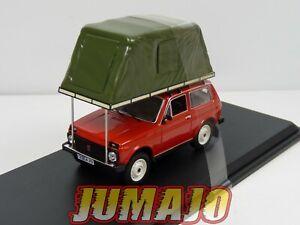 PRX33 1/43 IXO IST 295MR : LADA Niva Tente de toit 1981 rouge