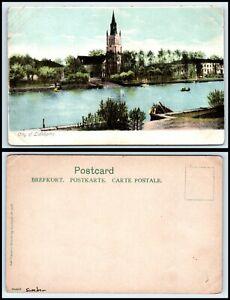 SWEDEN Postcard - Lidkoping, General View FF6