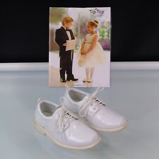 Boys Dress Oxford Shoes Tip Top Size 11 White Special Occasions Shoes