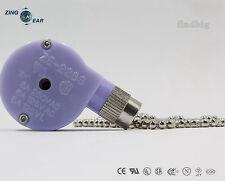 Zing Ear ZE-228S Pull Chain Switch Ceiling Fan 2 Speed Gardner Bender GSW-33