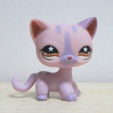 Hasbro Littlest Pet Shop Collection LPS Figure Loose Pink Rare Cat Kitten #933