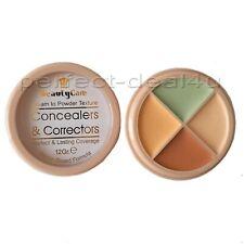 Professional 4 color Concealer Corrector Palette Green Brown Pink Peach Makeup