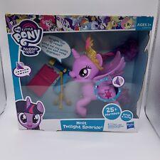 My Little Pony MEET Twilight Sparkle BIG Talks Sings 25 Phrases NIB