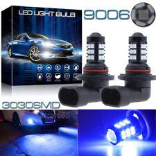 2x 30SMD 9006 HB4 Ultra Blue LED Fog Light Bulb for RAM 1500 2500 3500 2013-2015