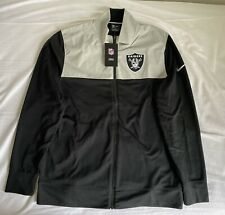 Veste zippée légère Nike NFL Los Angeles Raiders taille M BNWT