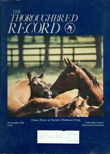 1985 Thoroughbred Record Magazine: Future Flyers at Florida's Waldemar Farm
