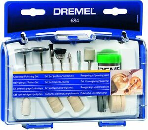 DREMEL 684 20 Piece Cleaning & Polishing Set Rotary Tool Accessories Kit